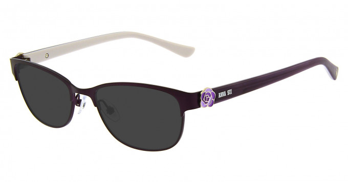 Anna Sui AS211 Sunglasses in Purple