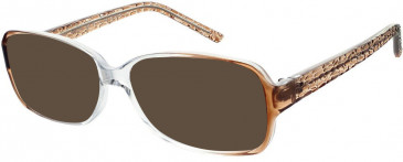 Matrix 826 sunglasses in Brown and Crystal