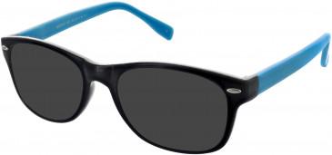 Matrix 820 sunglasses in Black and Turquoise