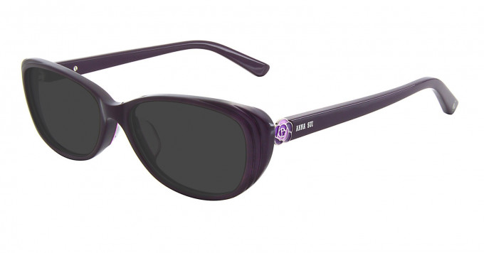 Anna Sui AS606 Sunglasses in Purple
