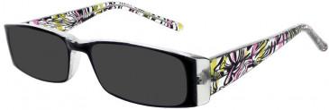 Matrix 813-50 sunglasses in Black and Pink