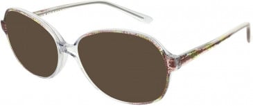 Matrix 812-55 sunglasses in Brown and Crystal
