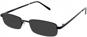 Matrix 222-53 sunglasses in Black