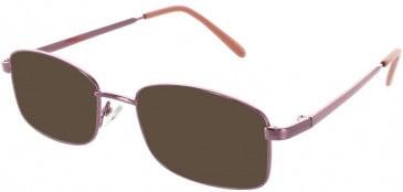 Matrix 221-54 sunglasses in Rose