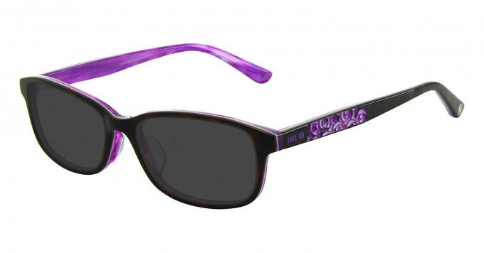 Anna Sui AS612 Sunglasses in Demi/Purple