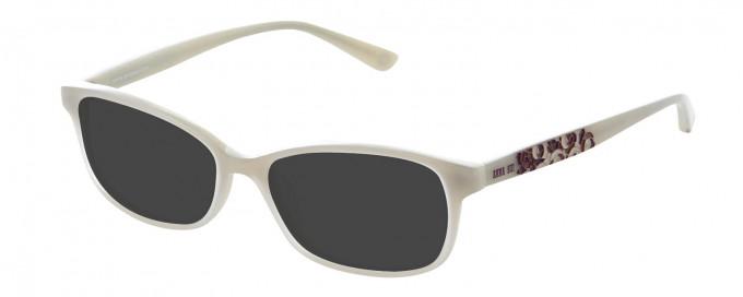 Anna Sui AS612 Sunglasses in Cream