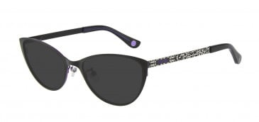 Anna Sui AS214A Sunglasses in Black