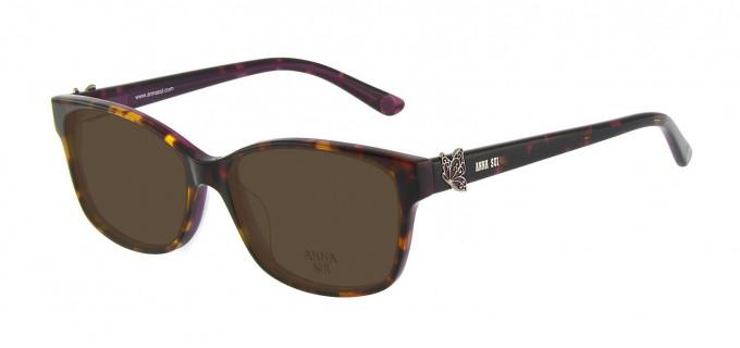 Anna Sui AS662A Sunglasses in Tortoise/Burgundy