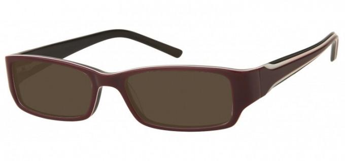 Sunglasses in Purple/Black
