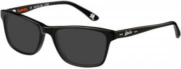 Superdry SDO-15001 Sunglasses in Gloss Black