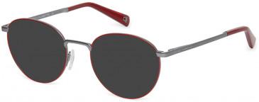 Benetton BEO3002-50 sunglasses in White