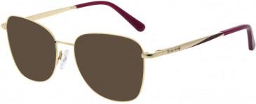 Le Coq Sportif LCS3003A-53 sunglasses in Rose Gold Bordeaux