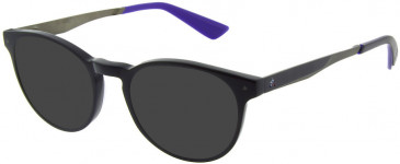 Le Coq Sportif LCS2016A-48 sunglasses in Black Marine