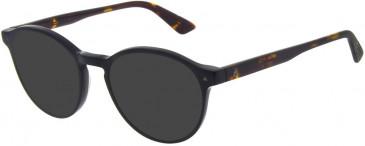 Le Coq Sportif LCS2010A-49 sunglasses in Matte Black