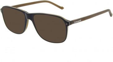Le Coq Sportif LCS2004A-56 sunglasses in Black Brown