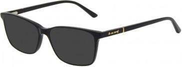 Le Coq Sportif LCS1019A-52 sunglasses in Black