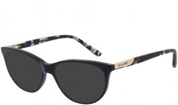 Le Coq Sportif LCS1018A-53 sunglasses in Black