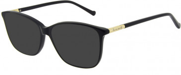 Le Coq Sportif LCS1004A-54 sunglasses in Black