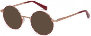 Benetton BEO3005-48 sunglasses in Purple