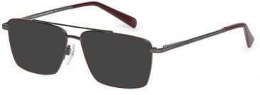 Benetton BEO3000-55 sunglasses in Burgundy