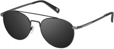 Benetton BE7013 sunglasses in Matte Grey