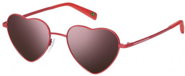 Benetton BE7010 sunglasses in White