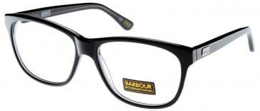 Barbour BI-006-54 glasses in Black