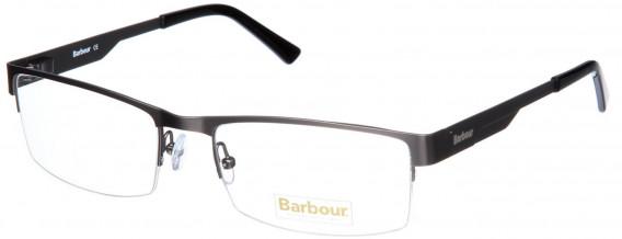 Barbour B027-55 glasses in Matt Silver