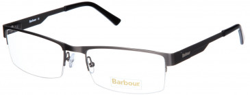 Barbour B027-55 glasses in Matt Silver