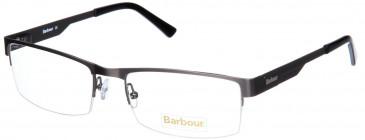 Barbour B027-57 glasses in Matt Silver