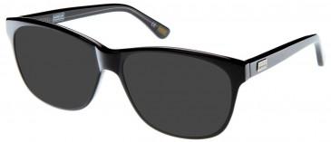 Barbour BI-006-54 sunglasses in Black