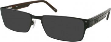 Barbour B033 sunglasses in Bronze