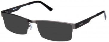 Barbour B027-55 sunglasses in Matt Silver