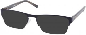Barbour B061-54 sunglasses in Bronze