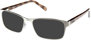 Barbour B042 sunglasses in Silver