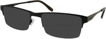 Barbour B034 sunglasses in Black