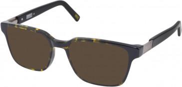 Barbour BI-030-50 sunglasses in Tort/Black