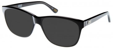 Barbour BI-006-54 sunglasses in Black