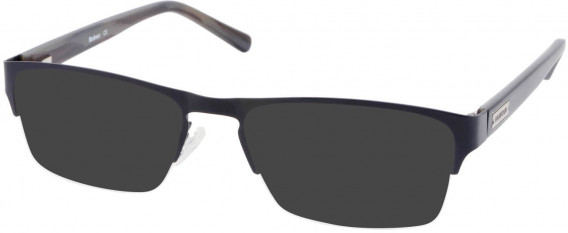 Barbour B061-54 sunglasses in Black