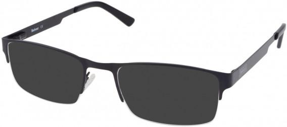 Barbour B052-55 sunglasses in Black