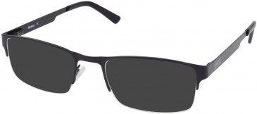 Barbour B052-55 sunglasses in Gunmetal