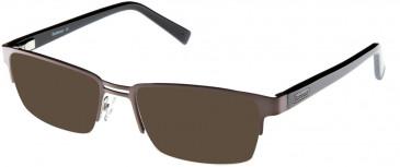 Barbour B045-55 sunglasses in Black