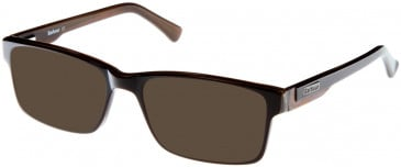 Barbour B040 sunglasses in Brown