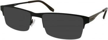 Barbour B034 sunglasses in Black