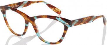 Ted Baker TSS202 glasses in Brown Turquoise