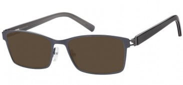 Sunglasses in Gunmetal