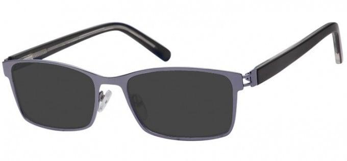 Sunglasses in Light Gunmetal