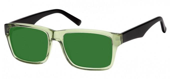 Sunglasses in Green