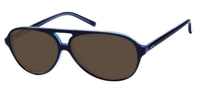 Sunglasses in Black/Blue