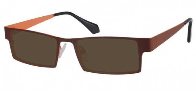 Sunglasses in Brown/Orange
